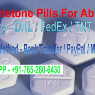 Mifepristone Pills For Abortion
